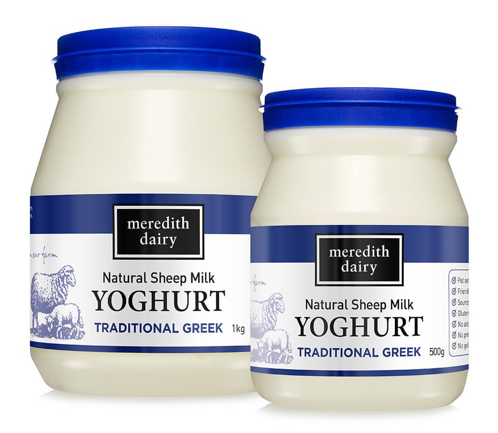 Photo of Natural Sheep Milk YOGHURT Traditional Greek