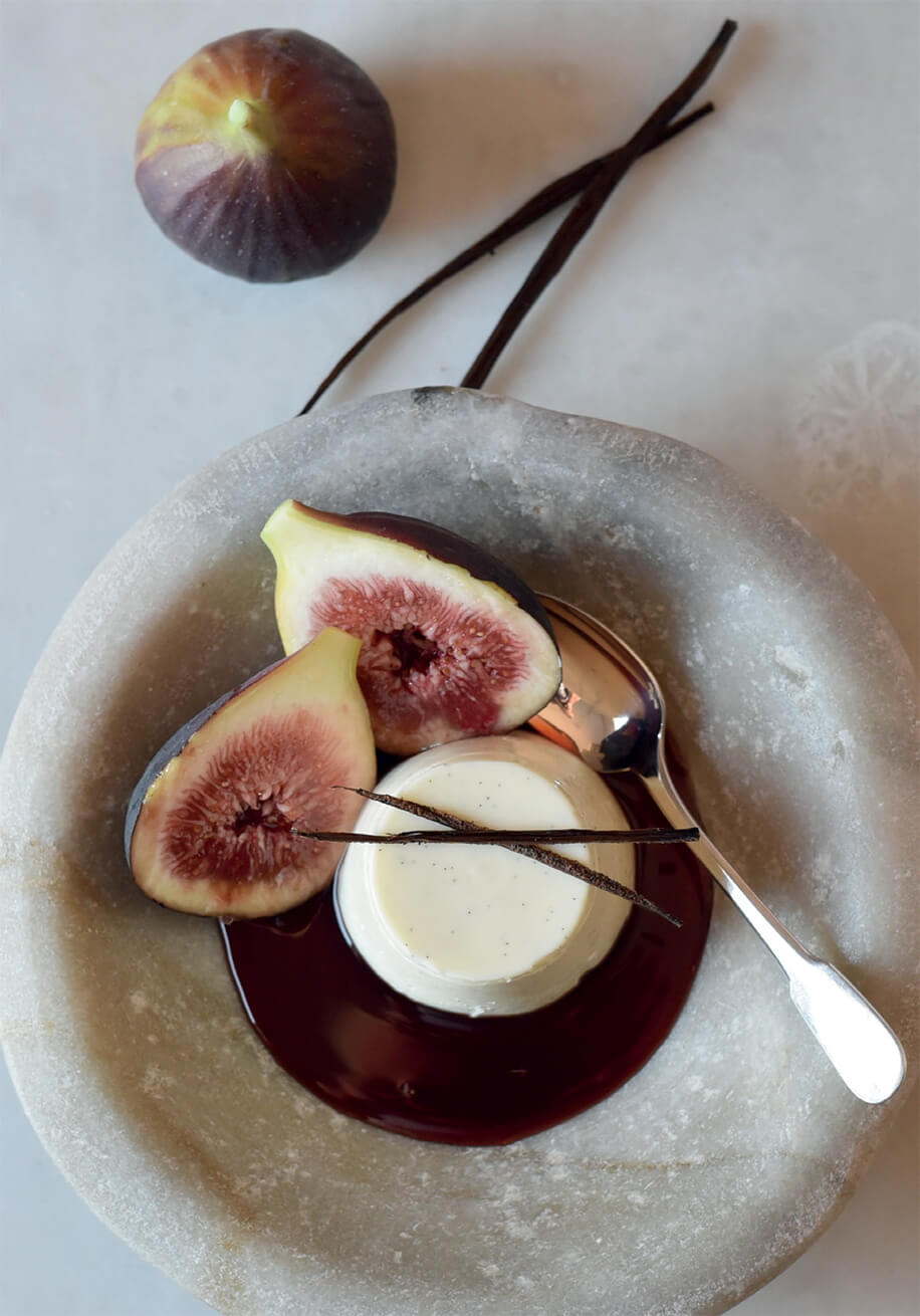 Photo of Yoghurt Panna Cotta with Red Wine Syrup