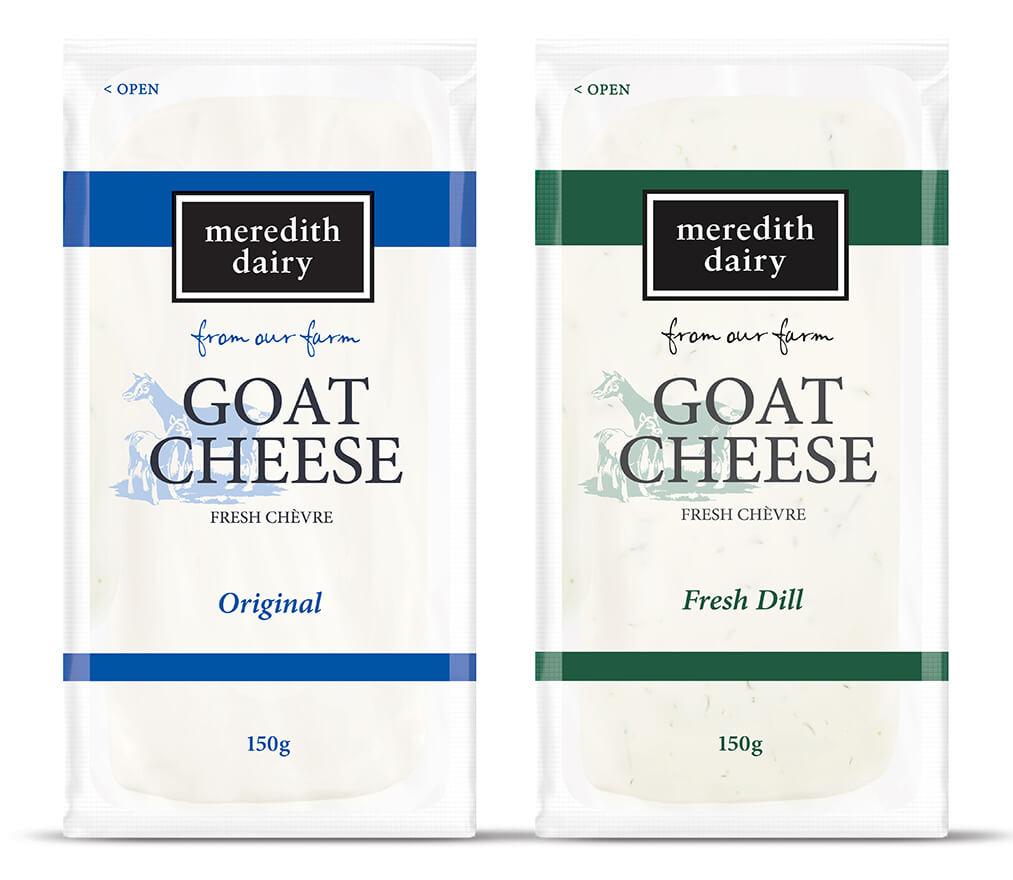 Photo of Fresh Goat Cheese 150g CHÈVRE Original & Fresh Dill