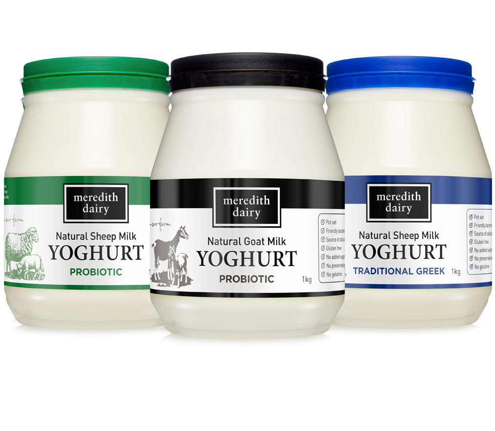 Photo of Natural Pot Set Sheep  & Goat Milk Yoghurts