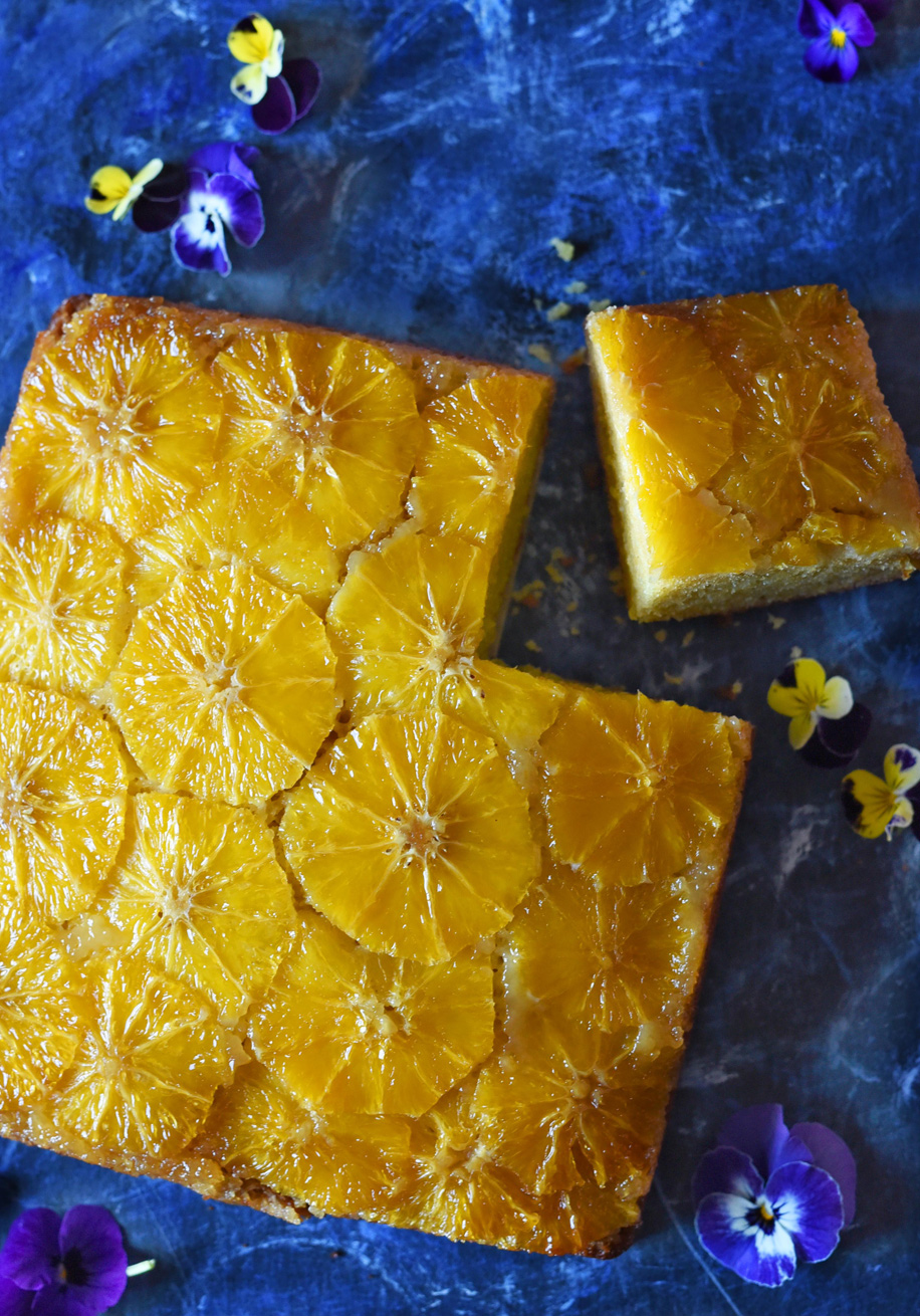 Photo of Upside Down Orange Cake