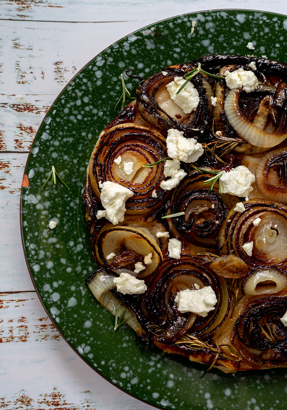 Photo of Caramelised Onion & Goat Cheese Tart