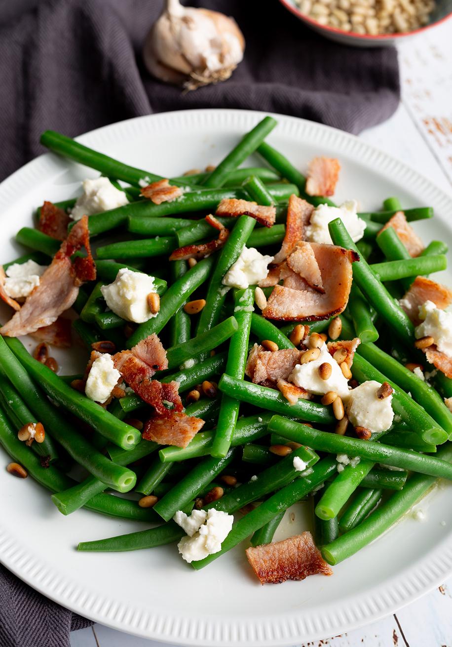 Photo of Green Bean, Bacon & Goat Cheese Salad