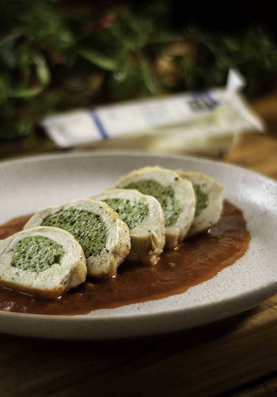 Photo of Chicken Breast with Goat Cheese Filling